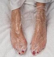 keratine sokken pedicuretip